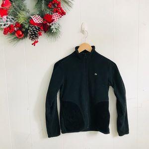 Lacoste Black Zip Up Jacket!